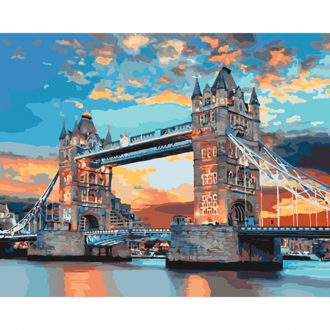 Картина по номерам - Лондонский мост 40х50см (КНО3515)