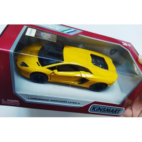 Машинка Lamborghini Aventador (KT5355W)