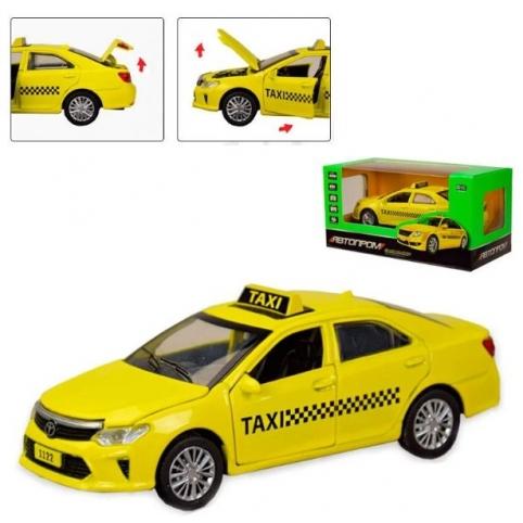Машинка металева Автопром Taxi (7843)