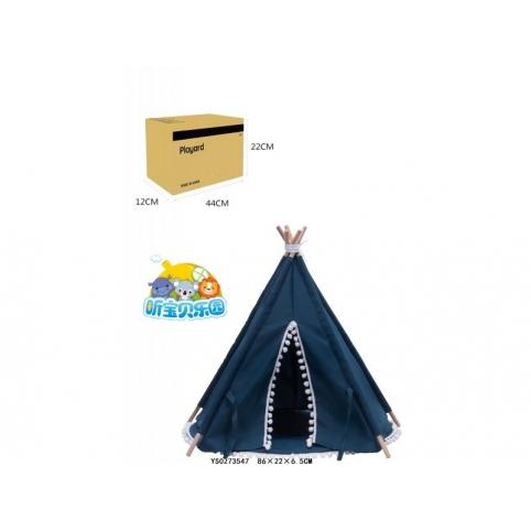 Палатка вигвам, синий RE333-97