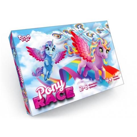 """Настольная развлекательная игра """"Pony Race"""" G-PR-01-01"""