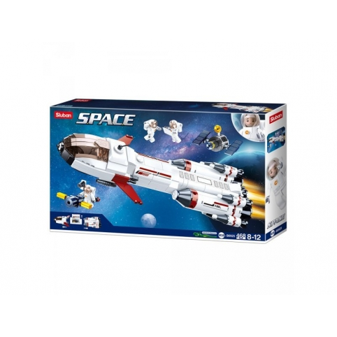 Конструктор SLUBAN Space Космический корабль M38-B0925