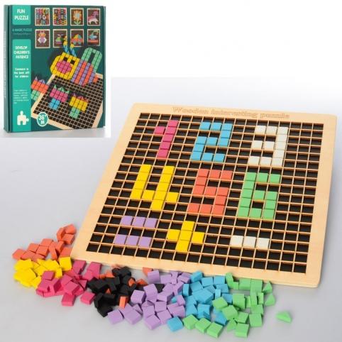 Деревянная игрушка Пиксельная мозаика MD 2462