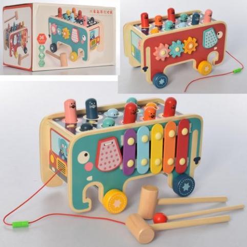 Деревянная игрушка развивающий центр MD 2750