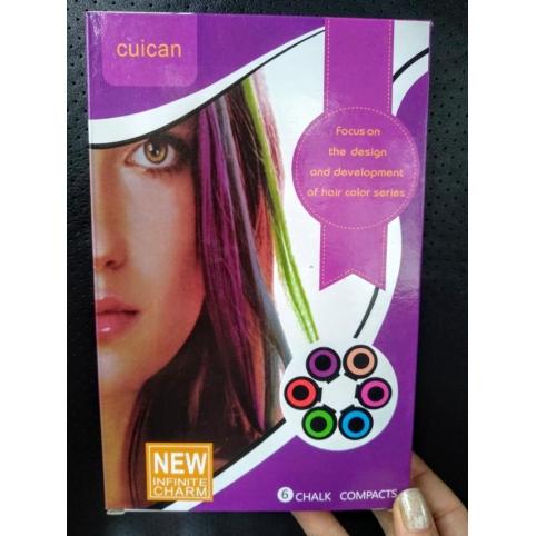 Набор мелков для волос, 6 шт