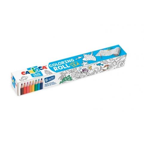 розмальовка (підводний світ), олівці