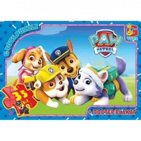 Пазлы G-Toys «Paw Patrol» 35 эл G-Toys (PW0821)
