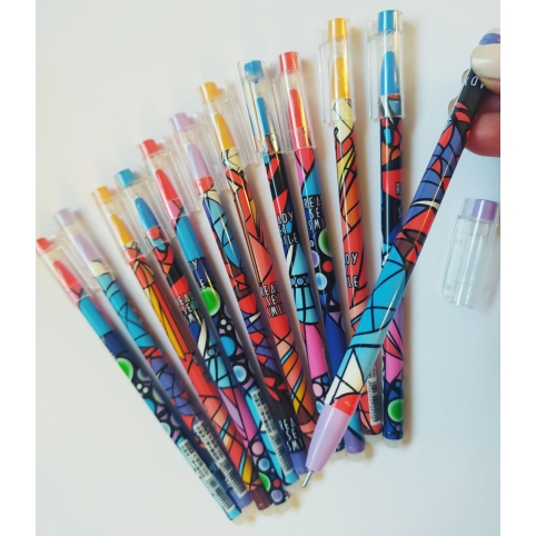 Стираемая ручка гелевая Орнамент