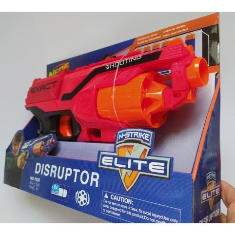 Бластер Nerf c мягкими пулями 6 шт. 7020