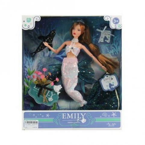 Кукла Русалка Emily QJ092
