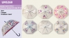 Зонт UM5269 (60шт5)прозрачный,  6 видов 80 см рис. 1