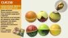 Антистресс-сквиш CLR230 (120шт) шарик-фрукт, 9,5 см, 6 видов, 6 шт в пакетецена за шт рис. 1