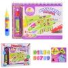 Раскраска XZ3616 (48шт2) раскраска водой,2 маркера, в коробке 25.5*4.5*20.5 см, р-р игрушки – 24*18 рис. 1