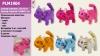Мягкая игрушка PLM1904 (128шт2) кот, мяукает, ходит,6 микс цветов, в пакете 18*14см рис. 1