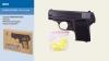 Пистолет метал ZM03 (36шт) пульки в кор.19,5*14*4см рис. 1