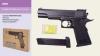 Пистолет метал ZM05 (24шт) пульки в кор.26,5*17*5,5см рис. 1