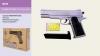 Пистолет метал ZM25 (36шт) пульки в кор.21,5*15,5*4,5см рис. 1