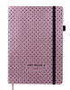 Блокнот діловий RELAX А5, 96л., чистий, обкл. штучна шкіра, рожеве золото рис. 1