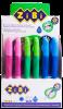 Ручка кулькова для правші з гумовим грипом, синій, дисплей рис. 1