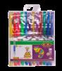 Набір з 12-ти гелевих ручок NEON+GLITTER, 12 кольорів рис. 1