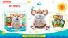 Интерактивное животное  PL-7067A (16шт2)Мышонок-сказочник,5 сказок на украинском языке,в кор. 30,5* рис. 1
