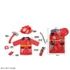 Костюм пожарника 9911A (24шт2) с аксессуарами, в уп-ке 65*40*10 см рис. 1