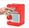 Электронная копилка-сейф 881506 (24шт2) красный, в коробке 15*15*21 см рис. 1