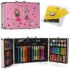 Набір для творчості MK 4536 акв.фарби, фломастери, олівці, валіза,