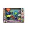 Іграшка TL955 для купання, водоспад, сачок-акула, формочки, кор., 48-33-12 см. рис. 1