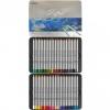 Карандаши 50 цветов шестигранные в метал. пенале, Raffine, Marco рис. 1