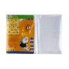 Пленка самоклеющаяса для книг, 10л. 38*27см п/е, прозрачная /100/ рис. 1
