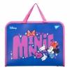 "Папка-портфель YES на блискавці з тканинними ручками ""Minnie Mouse"