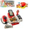 Кассовый аппарат 668-48 (12шт) сканер,звук,свет,продукты,корзинка,на бат,в кор-ке,43,5-21-17см рис. 1