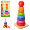 Дерев'яна іграшка Пірамідка MD 1215