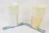 Набір стаканчиків з фольгою 10 шт рис. 1