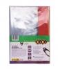 Обкладинка для зошитів і підручників А4 з клапаном, PVC, 5 шт. в упак. // рис. 1
