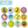 Фрукти та овочі. Міні мемо-гра (Dodo 300156) рис. 0