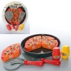 Продукты 500A (48шт) на липучке, пицца, нож, лопатка, в слюде, 31-34-8см рис. 1