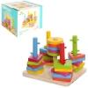 Деревянная игрушка Пирамидка-ключ MD 0061