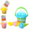 Набор для песочницы желтый (610) мороженое