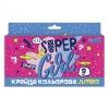 Мел цветной 1Вересня JUMBO Cool girl (400409)