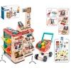 Магазин 668-78 (6шт) прилавок 48-82-41, касса, продукты, тележка33-40,5-20см, 48предм, в кор-ке, рис. 1