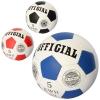 Мяч футбольный OFFICIAL 2500-203 (30шт) размер5,ПУ,1,4мм,32панели, ручн.работа,280-310г,3цв,в кульке рис. 1