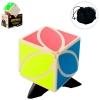 Кубик 6007 (96шт) 5,5см, подставка, чехол, в слюде, 9-13-6,5см рис. 1