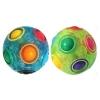Игра 189D (125шт) головоломка, 7см, 2 цвета, в кульке, 7-7-7см рис. 1