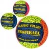 М'яч волейбольний 1131ABC офіц.розмір, ПУ, ручная работа, 18панелей, 260-280г., 3кольори, кул.