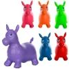 Прыгуны-лошадки MS 0737 (12шт) ПВХ, 1250г, 6цветов, в кульке, 37-30-5см рис. 1