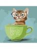 Картина по номерам - Lovely kitten 40*40 см (КНО4057)