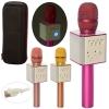 Микрофон Q9 (20шт) 24,5см,аккум, Bluetooth,USBзар, 3цвета, в чехле, 29-12,5-8см рис. 1