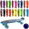 Скейт MS 0749-5 (10шт) пенни56-14,5см, колесаПУ свет, рисунок, 10видов,разобр, в кульке рис. 1